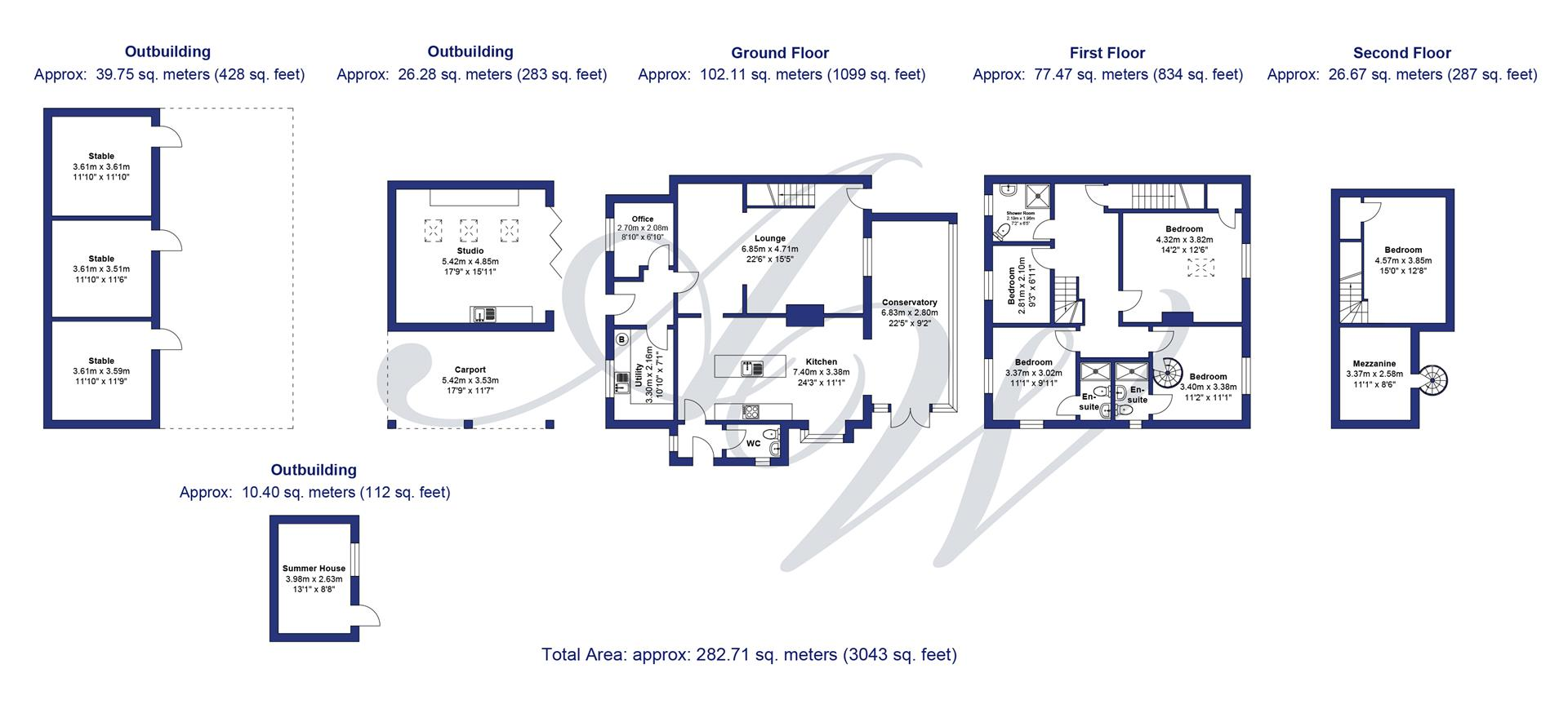 4 bedroom house For Sale in Bolton - Edgefoot Cottage plan.jpg.